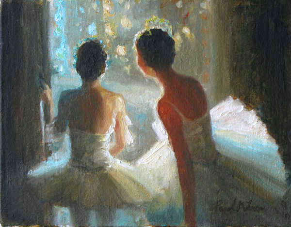 Magic Moment Painting By Paul Milner