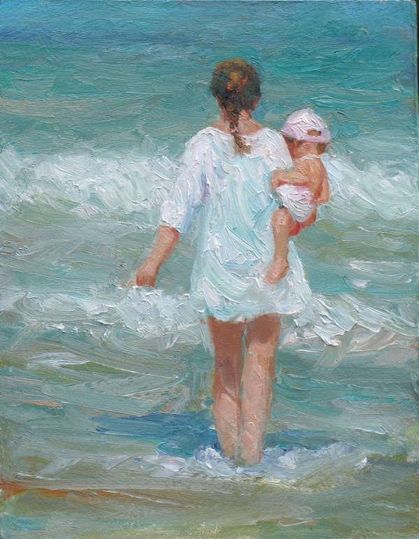 Always (II) Painting By Paul Milner