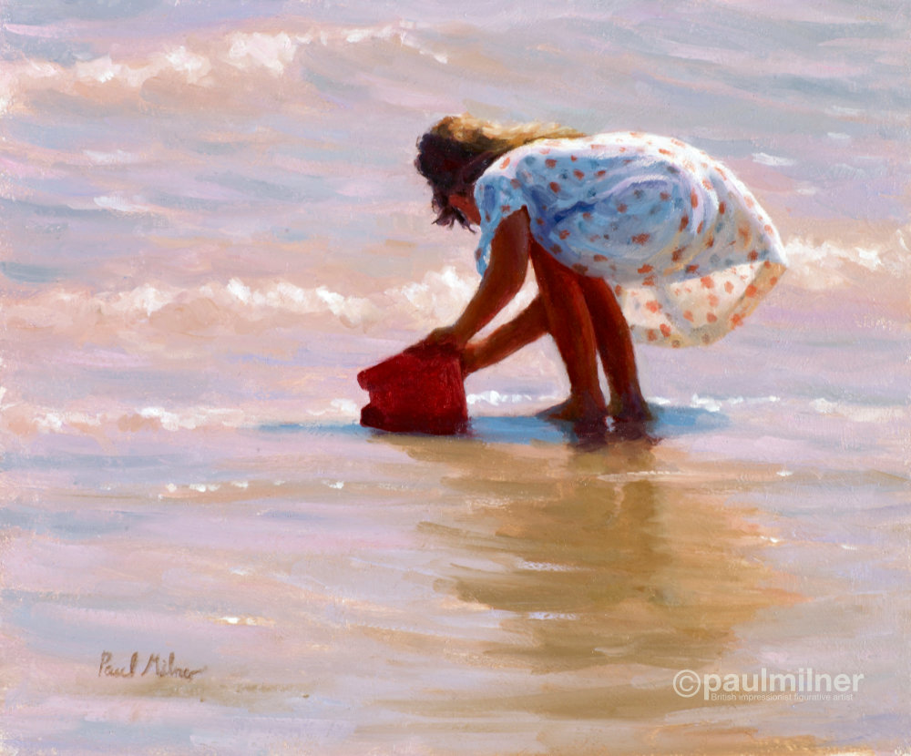 Summer Fun,From an original painting by Paul Milner