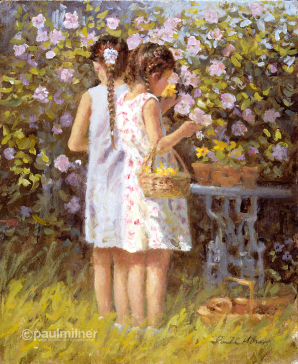 Summer scent, From an original painting by Paul Milner
