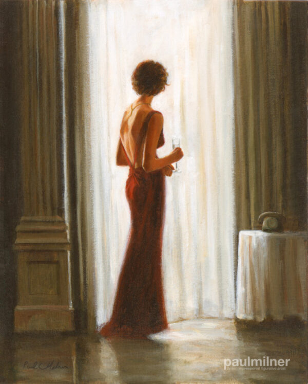 quiet contemplation, From an original painting by Paul Milner