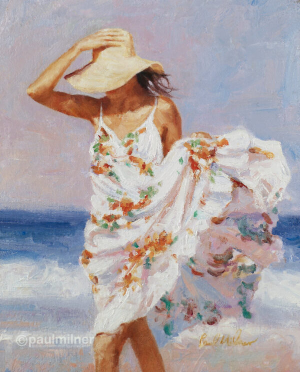 summer breeze, From an original painting by Paul Milner