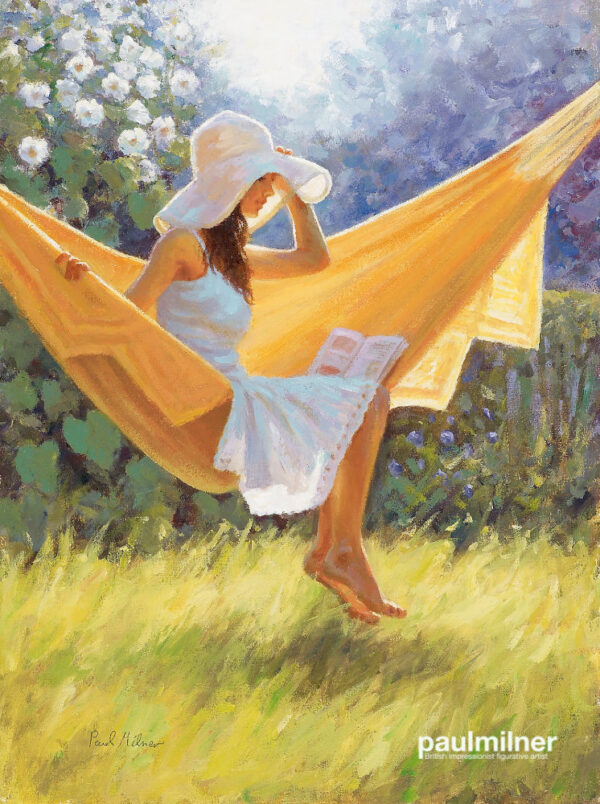 summer bliss, From an original painting by Paul Milner